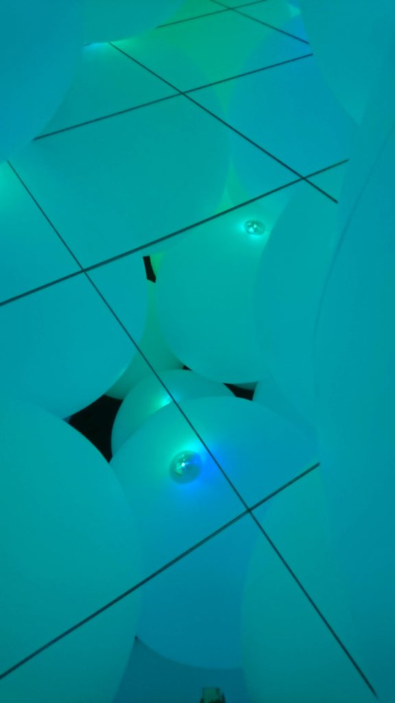 Expanding Three-dimensional Existence in Intentionally Transforming Space - Free Floating, 12 Colors