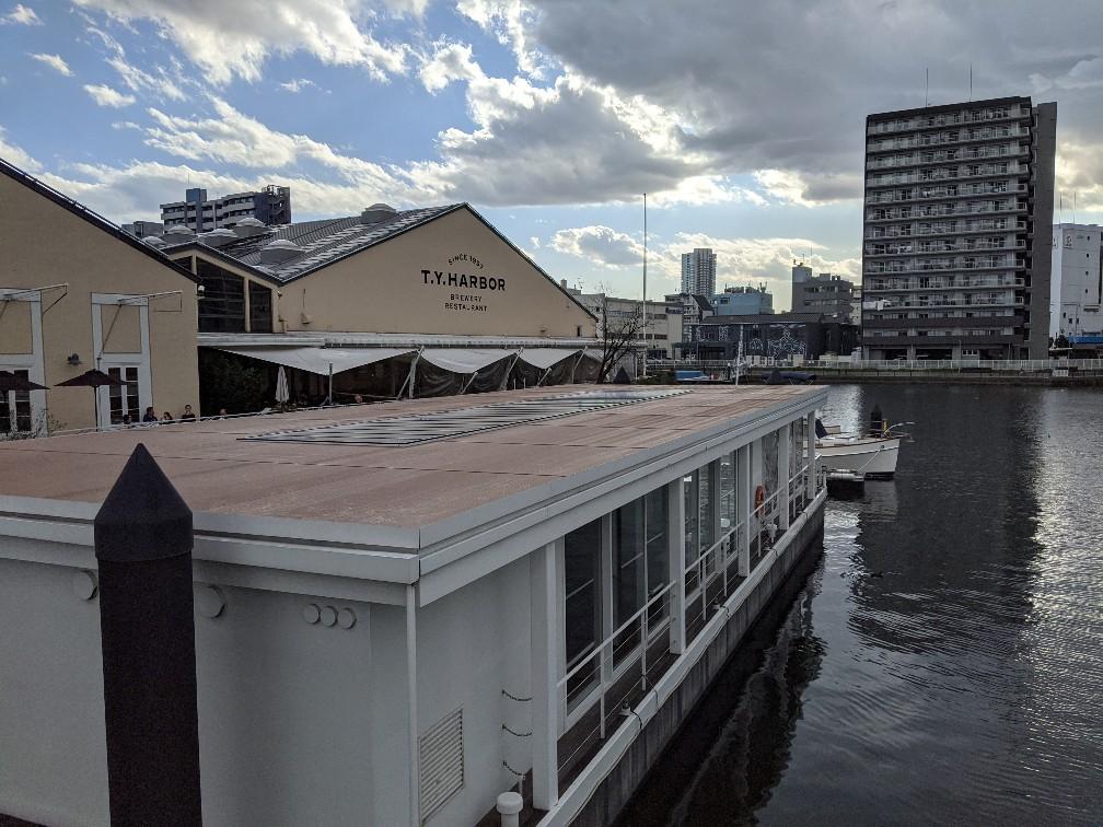 T.Y.HARBOR with Tennozu canal
