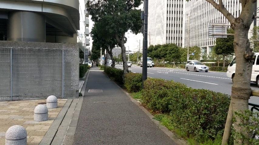 Wangan Street in Shinagawa Seaside