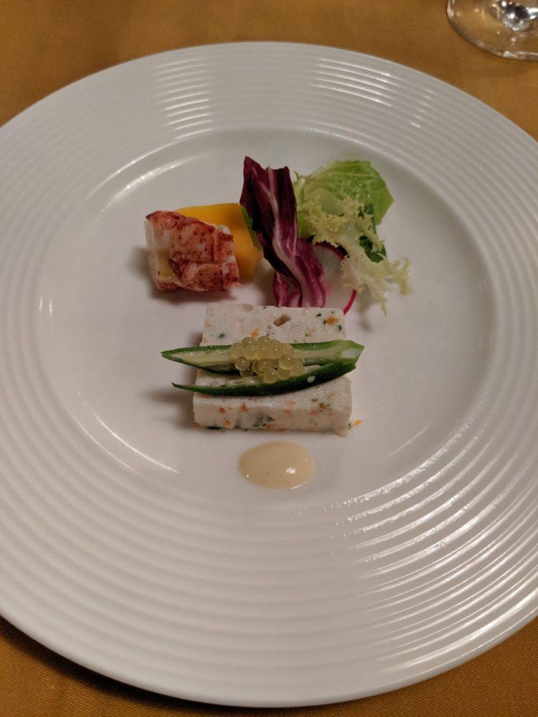 dinner in Manpei Hotel