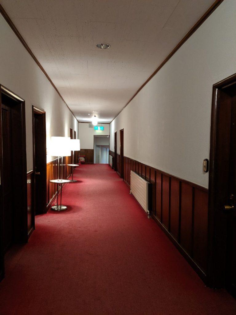 The corridor of Manpei Hotel