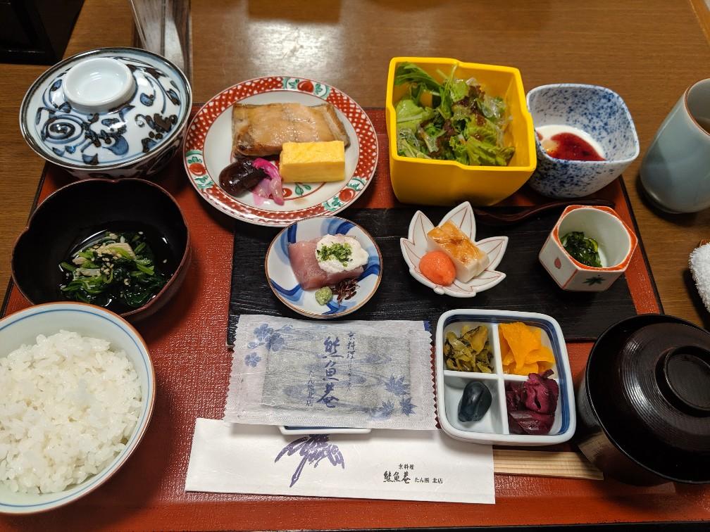 Breakfast in Manpei Hotel