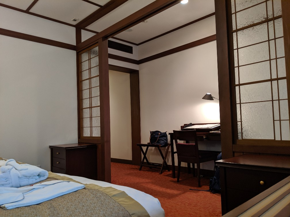 The classic room of Manpei Hotel